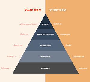Piramidemodel Patrick Lencioni | VDS