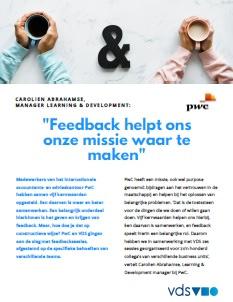 Vds referentie pwc feedback workshops cover