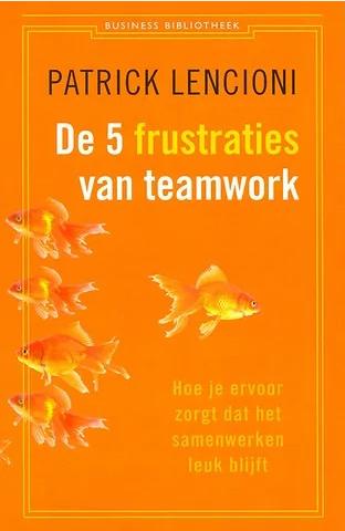 Vds training consultancy aanrader de 5 frustraties van teamwork